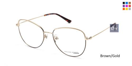 Brown/Gold William Morris London WM50147 Eyeglasses.