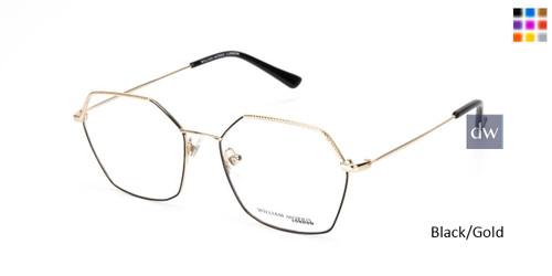 Black/Gold William Morris London WM50148 Eyeglasses.