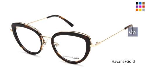 Havana/Gold William Morris London WM50150 Eyeglasses.