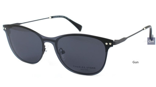 Gun William Morris Charles Stone NY Sun Clip 30040 Sunglasses