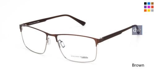 Brown William Morris London WM50154 Eyeglasses.