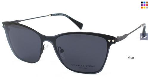 Gun William Morris Charles Stone NY Sun Clip 30041 Sunglasses