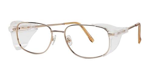 Gold Wolverine W021 Safety Eyeglasses