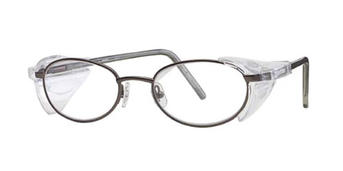 Gunmetal Wolverine W014 Side Shield Eyeglasses - Teenager