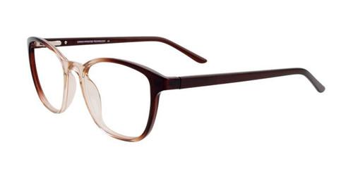 Dark Brown & Light Brown Crystal Cargo C5049 Eyeglasses.
