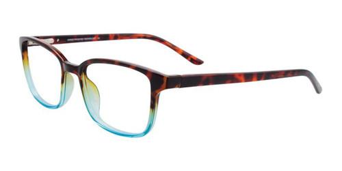 Crystal Blue & Dark Demi Ambre Cargo C5050 Eyeglasses.