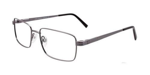 Satin Brushed Silver Cargo C5039 Eyeglasses.