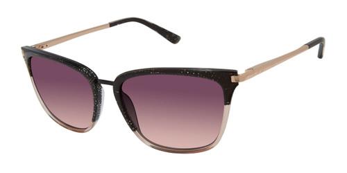 Black/Blush L.A.M.B DIXIE - LA566 Sunglasses