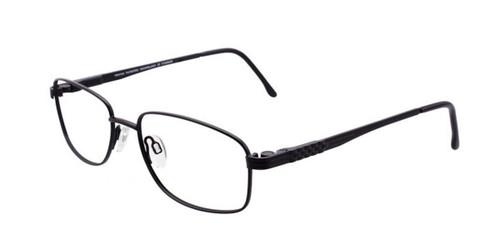 Satin Black Pentax PX904 Eyeglasses
