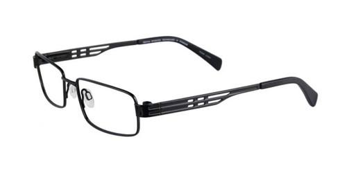 Satin Black Pentax P9991 Eyeglasses