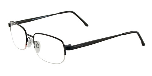 Matte Black Cool Clip CC830 Eyeglasses.