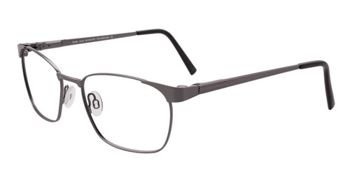 Satin Steel Cool Clip CC831 Eyeglasses.