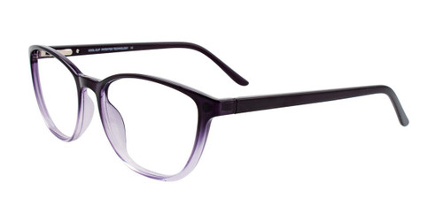Black Crystal Cool Clip CC839 Eyeglasses.