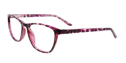 Purple Tortoise Cool Clip CC840 Eyeglasses.