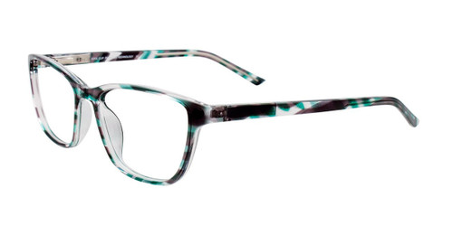 Blue/Green Marbled Cool Clip CC841 Eyeglasses Teenager.