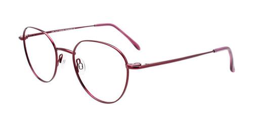 Shiny Pinkish Red Cool Clip CC844 Eyeglasses.