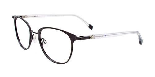 Matt Black Clip & Twist CT266 Eyeglasses.