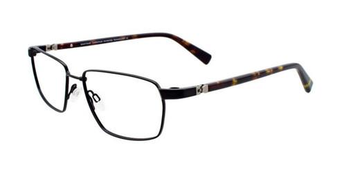 Satin Black Clip & Twist CT246 Eyeglasses.