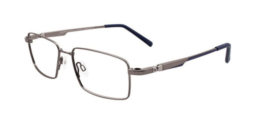 Matt Grey Clip & Twist CT236 Eyeglasses.