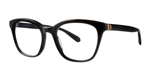 Black Zac Posen Beshka Eyeglasses.