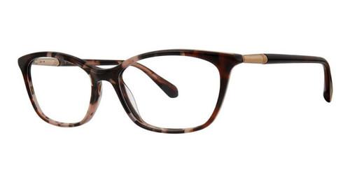 Rose Tortoise Zac Posen Paloma Eyeglasses.