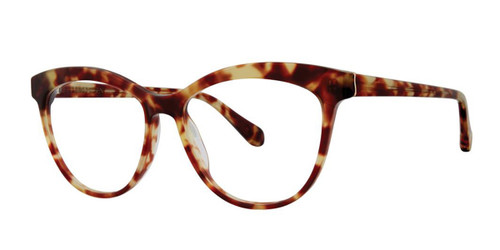 Tortoise Zac Posen Rumia Eyeglasses.