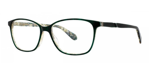 Emerald Marble Zac Posen Matilla Eyeglasses.