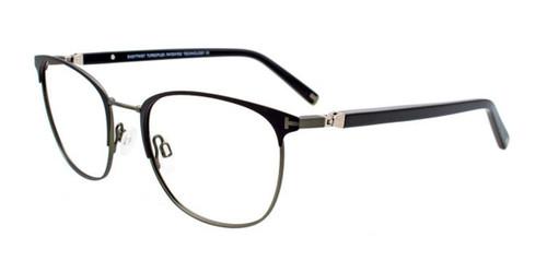 Matte Black/Steel Green EasyTwist ET994 Eyeglasses.