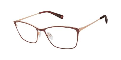 Burgundy Brendel 902258 Eyeglasses.