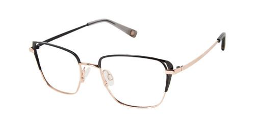 Black/Rose Gold Brendel 922066 Eyeglasses.