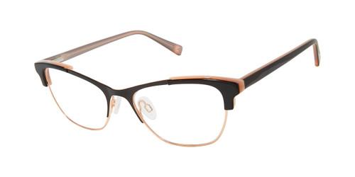 Black/Rose Gold Brendel 922065 Eyeglasses.