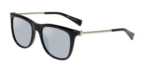 Black John Varvatos V544 Sunglasses.