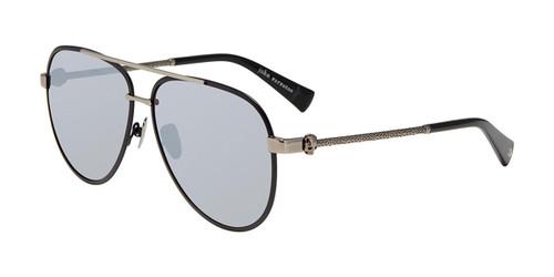 Matte Black John Varvatos V546 Sunglasses.