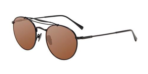 Black John Varvatos V547 Sunglasses.
