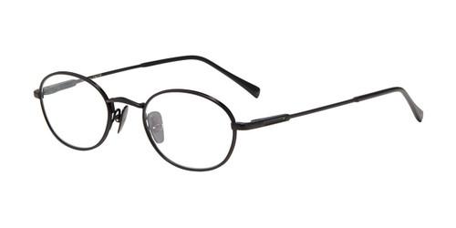 Black John Varvatos V185 Eyeglasses.