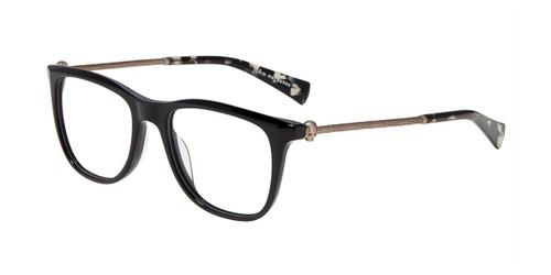 Black John Varvatos V418 Eyeglasses.
