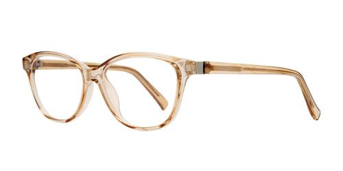 Brown Affordable Design Drea Eyeglasses.
