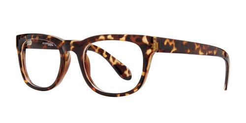 Tortoise Affordable Design Folsom Eyeglasses.