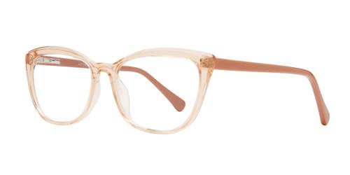 Peach Affordable Design Shelli Eyeglasses.