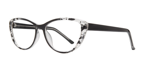 Black Affordable Design Zilla Eyeglasses.