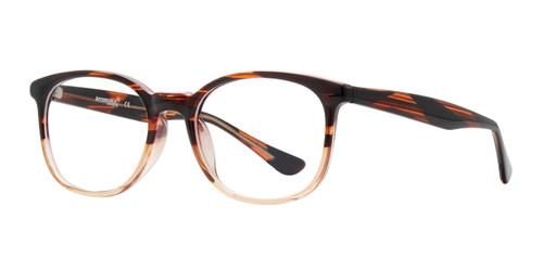 Beige Affordable Design Breet Eyeglasses.
