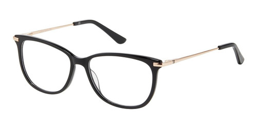 Black Rose Gold Ann Taylor AT339 Eyeglasses