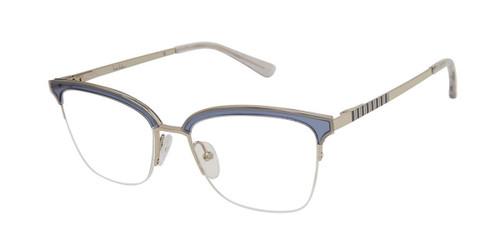 Trans Denim Nicole Miller Cannes Resort Eyeglasses.