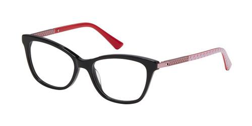 Black/Blush Nicole Miller Lulu Tween Niki Eyeglasses - Teenager.