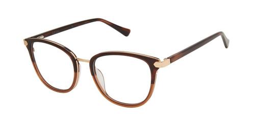 Umber Brown Nicole Miller Riviera Resort Eyeglasses.