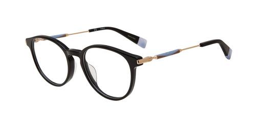 Black 0700 Furla VFU297 Eyeglasses.