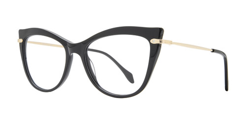 Black Serafina Susan Eyeglasses.