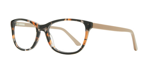 Demi/Brown Serafina Penelope Eyeglasses
