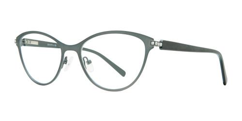 Grey Serafina Shirley Eyeglasses.