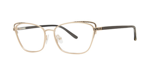 Tiara Gold Dana Buchman Marcia Eyeglasses.